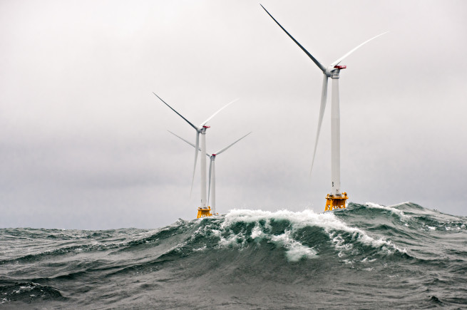 severe weather impacts complex offshore wind farm operations