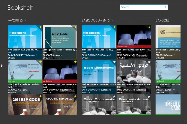 Complete digital publication and documentation library